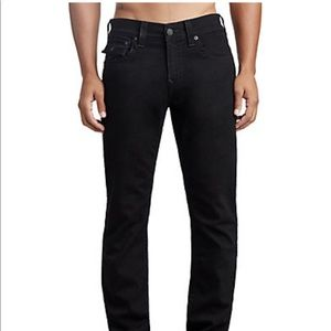 True Religion Jet Black Straight with flap size 38